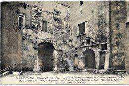 A2 BDR 13 MARIGNANE Chateau Seigneurial Entrée D'honneur  TBE - Marignane