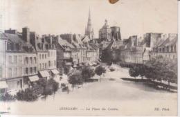 Guingamp La Place Du Centre  1918 - Guingamp