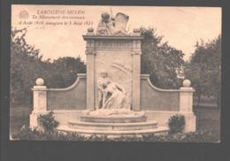 Melen / Labouxhe-Melen - Le Monument Des Victimes D'Août 1914, Inauguré Le 5 Août 1923 - Soumagne