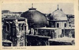 Gerusalemme - Il Santo Sepolcro - Formato Piccolo Non Viaggiata – E 13 - Cartoline