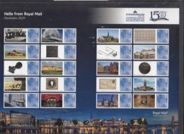 ENGELAND POSTZEGELVEL 150 JAAR STOCKHOLMIA UITGAVE 2019 - Blocs-feuillets
