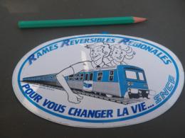 Autocollant - TRANSPORTS - SNCF - RRR - PICARDIE - Stickers