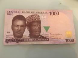 Billet 1000 Naira Nigeria 2010 - Nigeria