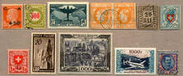 **/*/o 1850-1950, Stock Book With Better Items For The Retailer, Comprising ITALY, SWISS, FRANCE, ANDORRA And Some Class - Verzamelingen (zonder Album)