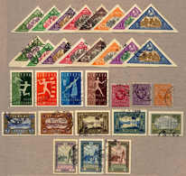 O 1919-38, 5 Complete Sets, (31), All With Cancellation, First Berlin Issue, 15th Anniv Of Independence With Perf And Im - Litouwen