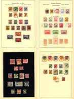 */o 1897-1914, Gehaltvolle Und Umfangreiche Kolonialsammlung, Durchwegs Qualitativ Hochwertiges Material, In Der Ursprün - Verzamelingen (zonder Album)