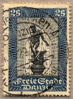 O 1929, 25 (+25 Pf), Dunkelgrauultramarin/schwarz, Mit Teilsonderstempel, VF!. Estimate 120€. - Zonder Classificatie
