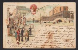 16289 Venezia - Ponte Rialto - Palazzo Ducale F - Venezia (Venice)