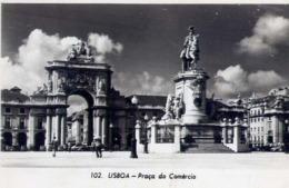 Lisboa - Praca Do Comercio - Formato Piccolo Viaggiata – E 13 - Cartoline