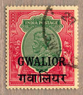 O 1930, 10 R., Green And Scarlet, Used, Very Fresh And Perfectly Centred, VF-XF!. Estimate 120€. - Indien