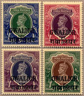 ** 1938-48, 5 R. To 25 R., MNH, Very Fine And Fresh, F-XF!. Estimate 300€. - Indien