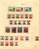 */o 1937-43, Specialized Collection King GEORGE VI Incl. Officials On 2 Albumpages, Very Well Quality, F-SUP!. Estimate  - Indien