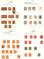 */o/(*) 1892-1949, Collection In Large Album, A Great Collection With Load Of Varieties, The Quality Is Very Good, A Hig - Indien