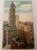 CPA NEW YORK SINGER BUILDING - New York City