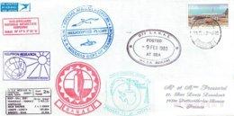 THEME POLAIRE - CAP TOWN - TRANSPORT PR HELICOPTERE - MV S.A. AGHULAS - RSA - 1983 - Beau Timbre NOMBREUX CACHETS - Forschungsprogramme