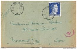 BERLIN , 1943 Lettre - Germany