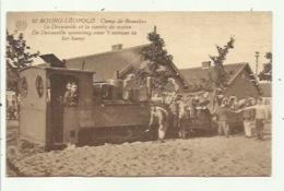 Camp De Beverloo - De Decauville Spoorweg Voor 't Vervoer In Kamp - Leopoldsburg (Kamp Van Beverloo)