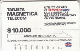 COLOMBIA(Tamura) - Service 9800, Used - Kolumbien
