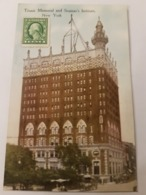 CPA NEW YORK TITANIC MEMORIAL AND SEAMAN'S INSTITUTE - New York City