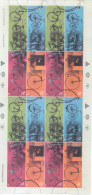 BYCICLETTES BYCICLES BICICLETAS SERIE COMPLETA AÑO 2002 COMPLETE SET RODADOS MNH ARGENTINE ARGENTINA - Argentinien