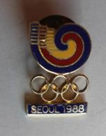 Pin's Séoul 1988 Jeux Olympiques Corée - Jeux Olympiques