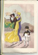 Carte Art-Deco - Voeux - Illustrateur Gaston Maréchaux - Le Livreur De Chapeaux (double Volet) - Illustrators & Photographers