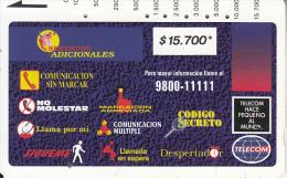 COLOMBIA(Tamura) - Montage Of Services 3($15700), Tirage 10000, Used - Kolumbien