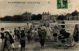 CPA Le POULIGUEN - Un Coin De La Plage (653869) - Le Pouliguen