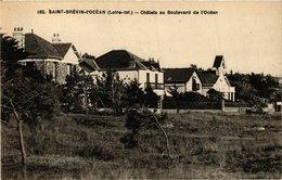 CPA St-BRÉVIN-l'OCÉAN - Chalets Au Boulevard De L'OCÉAN (653864) - Saint-Brevin-l'Océan