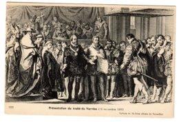 VERVINS - Présentation Du Traité - Vervins