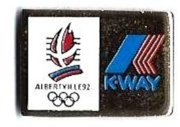ALBERTVILLE 92 - JO6 - K-WAY - Verso : C COJO / 1991 - Juegos Olímpicos