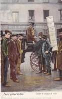 283353Paris, Pittoresque Cocher Et Sergent De Ville (voir Coins, Voir Côtés) - Petits Métiers à Paris