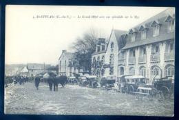 Cpa Du 22 à Plestin -- St Efflam  - Le Grand Hôtel Avec Une Vue Splendide Sur La Mer  LZ135 - Plestin-les-Greves