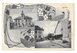 SAUBRAZ (Suisse) Carte à Deux Vues - VD Waadt