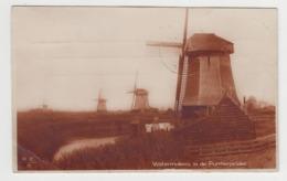 BB498 - PAYS BAS - WATERMOLENS IN DE PURMERPOLDER - Moulin à Vent,mullen,molines,mullen - Haarlem