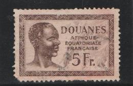 AFRIQUE EQUATORIALE FRANCAISE - Douanes - Neuf Sans Gomme (Lot 1) - Sonstige