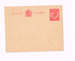 Entier Postal à 1 Penny.Office Belge Du Travail - Luftpost & Aerogramme