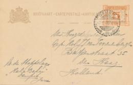 Nederlands Indië - 1930 -  5 Op 7,5 Cent Opdruk, Briefkaart G44 Van LB DAMPIT Naar Den Haag / Nederland - Nederlands-Indië