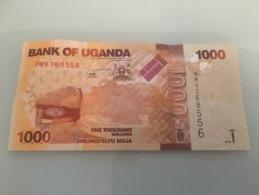 Billet 1000 Shillings Ouganda 2010 - Uganda