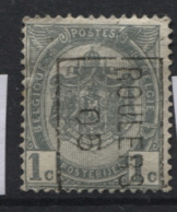 PREOS Roulette -ROULERS 1905 Sans Bandelette (position B). Cat 690 Cote 500. - Precancels