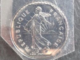FDC SCELLE 2 FRANCS NICKEL SEMEUSE 1997 - I. 2 Francs