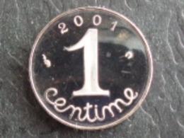 FDC BELLE EPREUVE 1 CENTIME EPI 2001 - A. 1 Centime