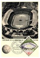 Thème Football - Monaco Carte Maximum - Fussball