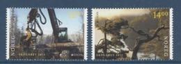 Norvège - Europa - Yt N° 1701 Et 1702 - Neuf Sans Charnière - 2011 - Neufs