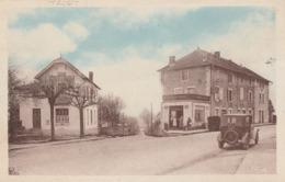 Carte Postale Ancienne De L'Isère - Trept - Avenue De La Gare - Frankreich