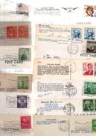 USA....TIMBRES.......LOT DE 80 SUR  CPSM CPM.....PF..........VOIR DETAIL....LOT254 - Collections