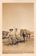 """Photographie : Août 1917 - Transport Du Bois Près Voie Ferrée - Légendée """" Camadreur """" """" Canardeur """" ? Sylviculture - Métiers"""