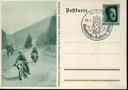 47416 Germany Reich, Special Postmark 1937 Berlin,  Meeting Hitler Mussolini - WW2
