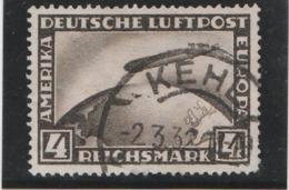 Deutsche Luftpost 1928 (Yvert N° PA 37) (Michel N° 424) 4 Reichsmark - Germany