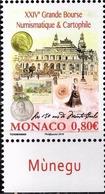 Monaco 3054 Bourse Philatélie, Numismatique, Cartophilie - Sin Clasificación